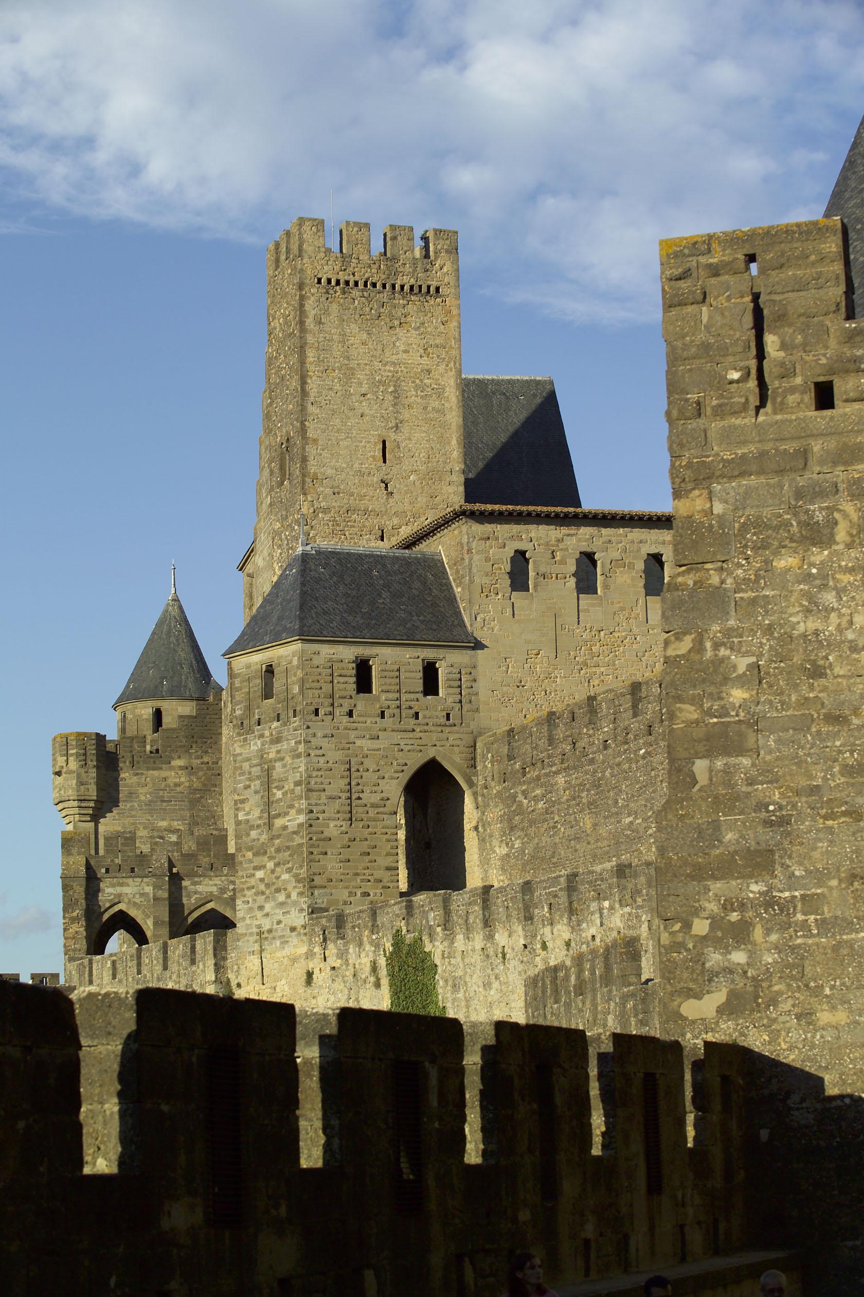 La Tour Pinte, vestige du château des Trencavel