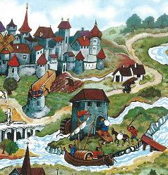 Le Moulin du Roy dans une carte postale (© Ed Orient)