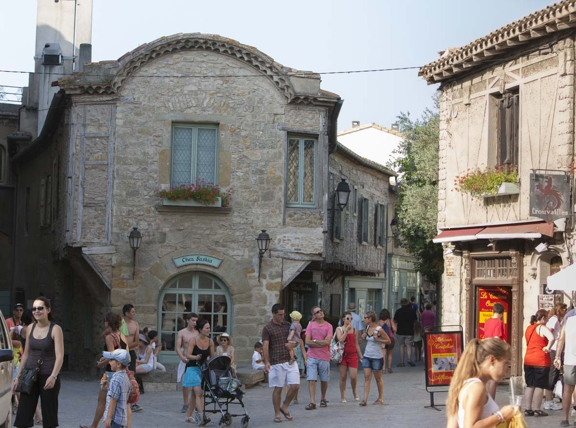 Rue de la Cité (© Ph. Benoist)