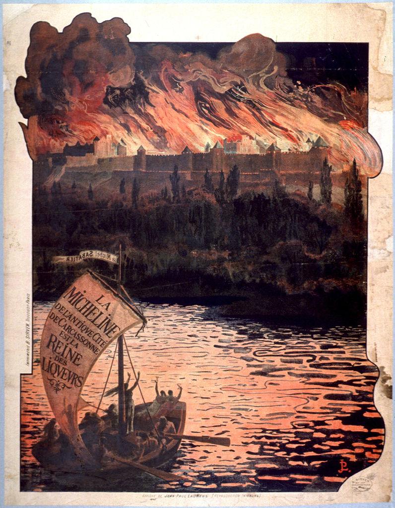 Affiche pour la Micheline, Jean-Pierre Laurens, lithographie (© BML)
