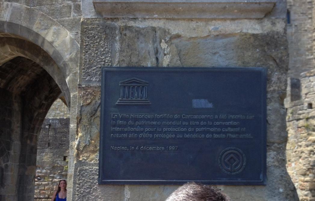 Cité de Carcassonne, un patrimoine classé