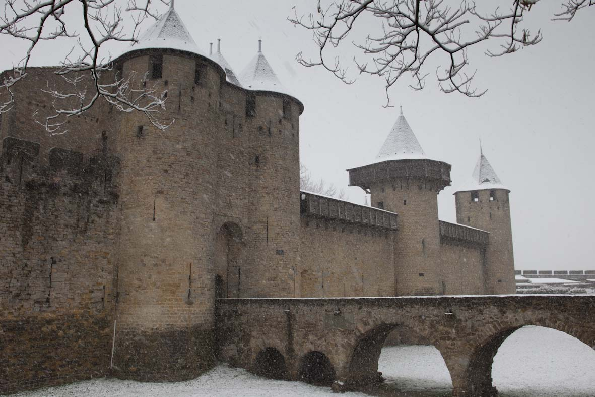La Cité sous la neige (©Ph. Benoist