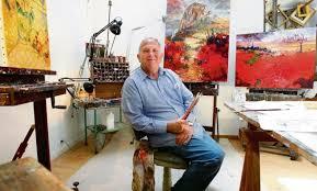 Patrick Robart dans sa galerie au coeur de la Cité