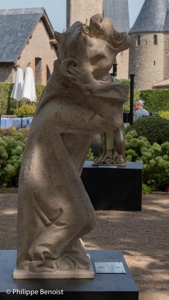 La gargouille de Viollet-le-Duc (© Ph. Benoist)