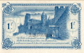 Le billet de 1917 émis par la Chambre de Commerce