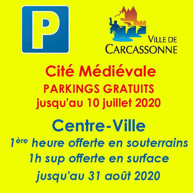Parking gratuit à la Cité !