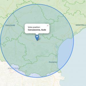 Déconfinement : 100km autour de Carcassonne