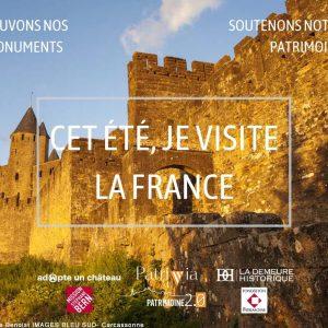 #CetétéjevisitelaFrance, je (re)découvre la Cité de Carcassonne !